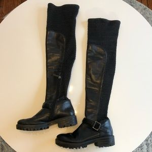 Kendall + Kylie Over the Knee Boots